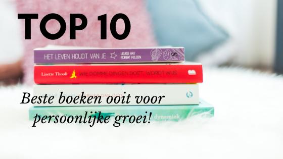Top 10 beste boeken ooit voor persoonlijke groei